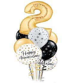 Anniversary Party balloons in Dubai