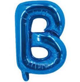 "40"" letter Blue Helium Foil Balloon"