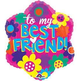 Friends foil balloon