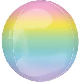Pastel Rainbow Orbz Balloon
