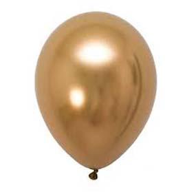 Plain chrome balloons