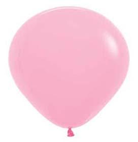 Plain fashion balloons pink